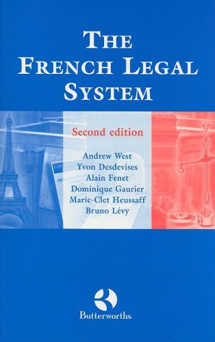 The French Legal System 9780406903235