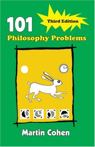 101 Philosophy Problems 9780415404020