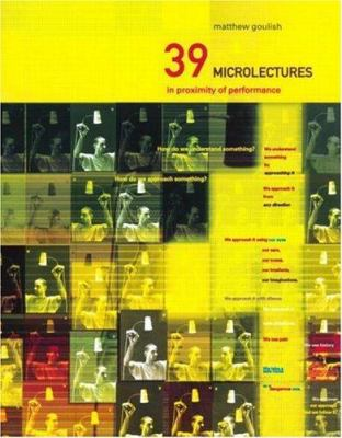 39 Microlectures: In Proximity of Performance 9780415213936