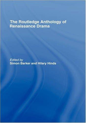 Routledge Anthology of Renaissance Drama 9780415187336