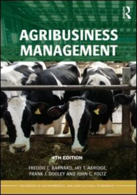 Agribusiness Management 9780415596961