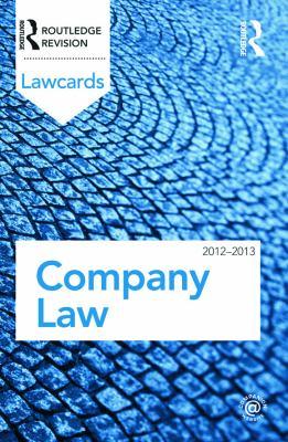 Company Law 9780415683302