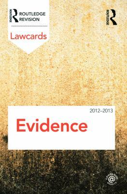 Evidence 9780415683388