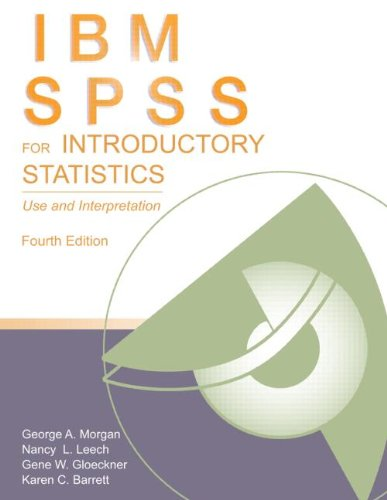 IBM SPSS for Introductory Statistics: Use and Interpretation 9780415882293
