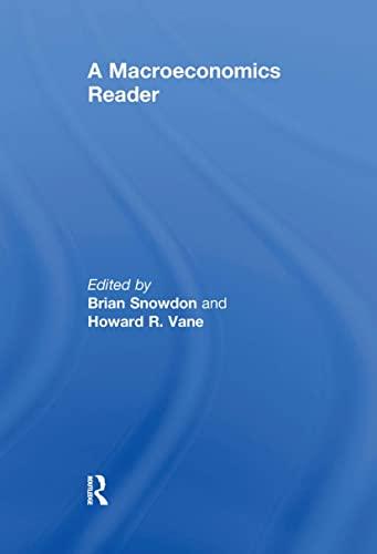 A Macroeconomics Reader 9780415157162