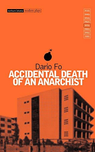 Accidental Death of Anarchist 9780413156105