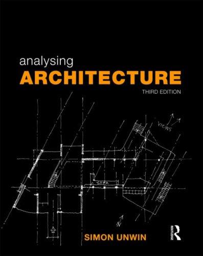 Analysing Architecture 9780415489287