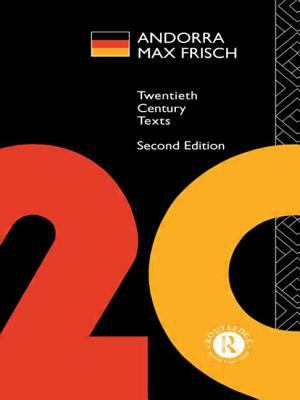 Andorra: Max Frisch 9780415115643