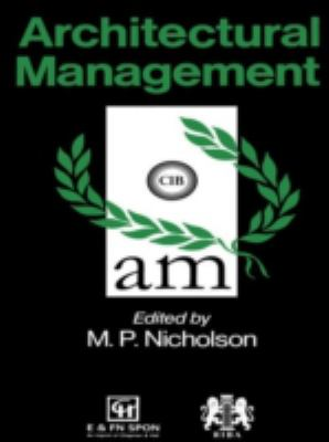 Architectural Management 9780419177807