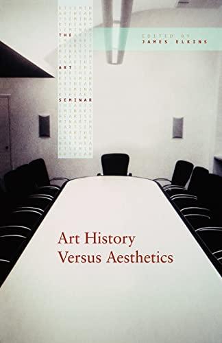 Art History Versus Aesthetics 9780415976893