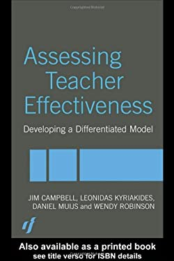 Assessing Teacher Effectiveness: Developing a Differentiated Model 9780415304788
