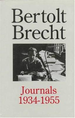 Bertolt Brecht: Journals 1934 to 1955 9780415908375
