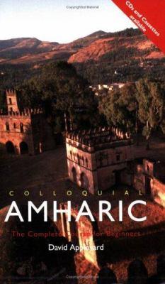 Colloquial Amharic 9780415100038