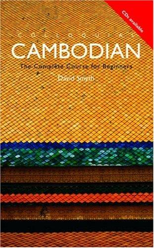 Colloquial Cambodian 9780415100069