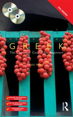 Colloquial Greek: The Complete Course for Beginners [With Colloquial Greek] 9780415448352
