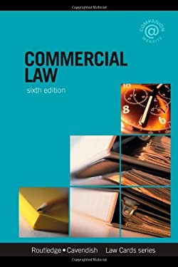 Commercial Lawcards 6/E: Seventh Edition 9780415456708
