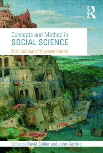 Concepts and Method in Social Science: The Tradition of Giovanni Sartori 9780415775786