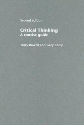 Critical Thinking: A Concise Guide 9780415343121
