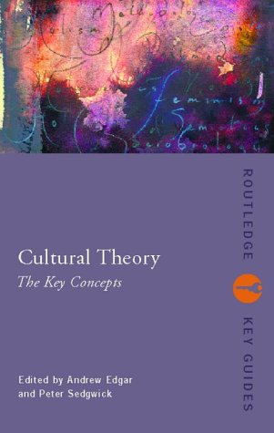 Cultural Theory: The Key Concepts 9780415284264