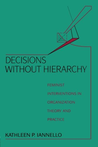 Decisions Without Hierarchy 9780415904292
