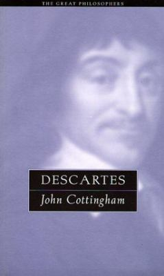 Descartes: The Great Philosophers 9780415923859