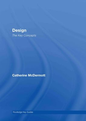 Design: The Key Concepts 9780415320153