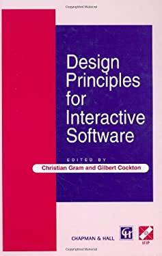 Design Principles for Interactive Software 9780412724701