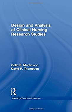 Design and Analysis of Clinical Nursing Research Studies 9780415225984