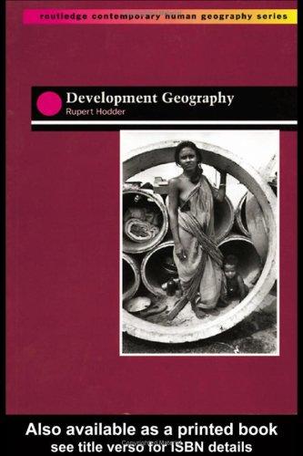 Development Geography 9780415142106