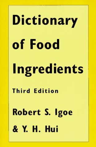 Dictionary of Food & Ingredients 3e Ppr 9780412072918