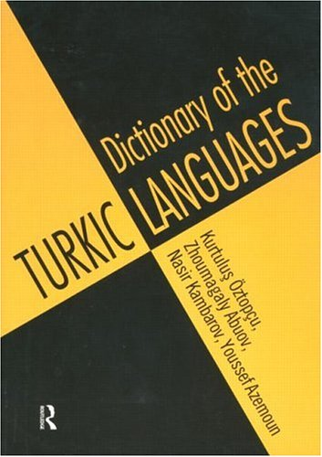 Dictionary of Turkic Languages 9780415160476
