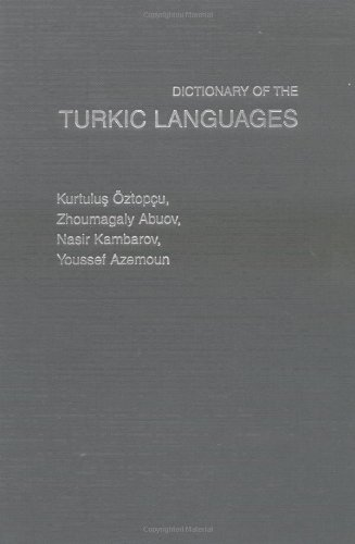 Dictionary of Turkic Languages 9780415141987