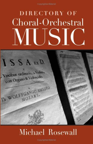 Directory of Choral-Orchestral Music 9780415980043