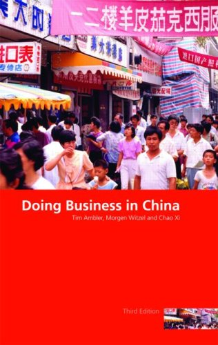 Doing Business in China 9780415436328