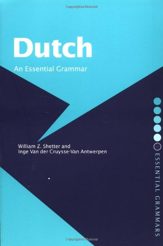 Dutch: An Essential Grammar 9780415235020