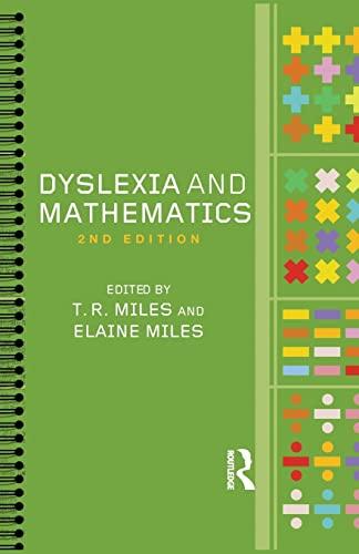 Dyslexia and Mathematics 9780415318174