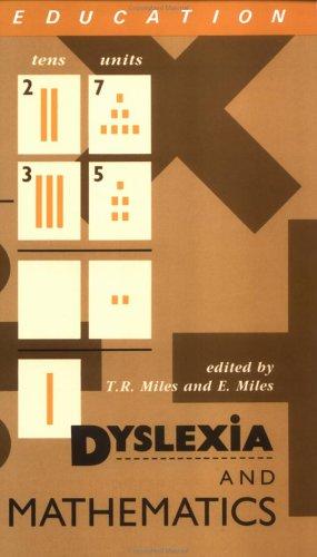 Dyslexia and Mathematics 9780415049870