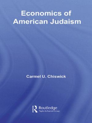 Economics of American Judaism 9780415780049