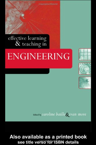 Effective Learning and Teaching in Engineering 9780415334891