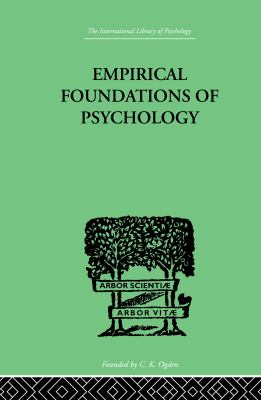 Empirical Foundations of Psychology