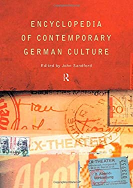 Encyclopedia of Contemporary German Culture 9780415124485