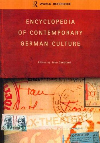 Encyclopedia of Contemporary German Culture 9780415263528