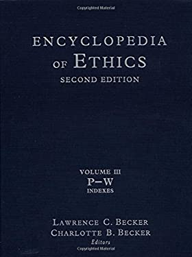 Encyclopedia of Ethics 9780415936750