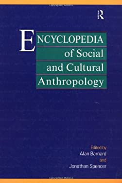 Encyclopedia of Social and Cultural Anthropology 9780415099967