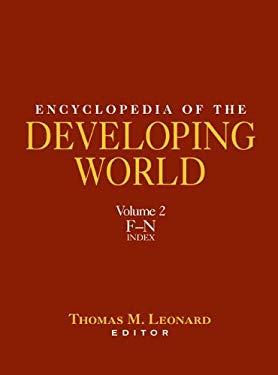 Encyclopedia of the Developing World, Volume 2 9780415976633