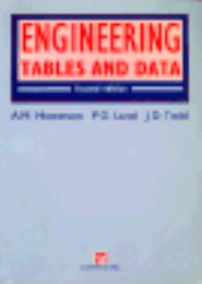 Engineering Tables and Data 9780412389702