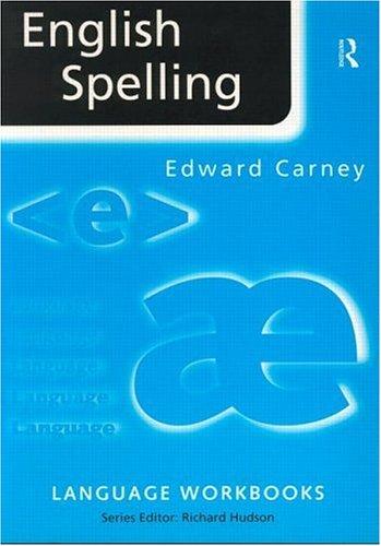 English Spelling 9780415161091