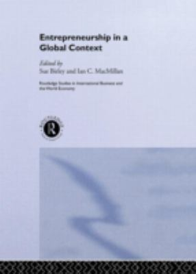 Entrepreneurship in a Global Context 9780415131322