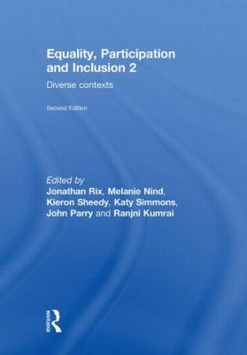 Equality, Participation and Inclusion 2: Diverse Contexts 9780415584258