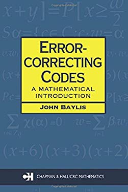 Error Correcting Codes: A Mathematical Introduction 9780412786907